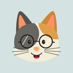 Cute Cat Emoji Stickers