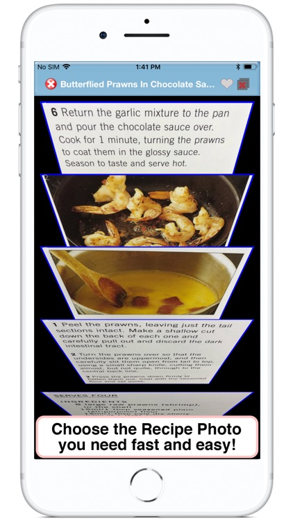 Recipe Selfie for Cookbooks screenshot-4