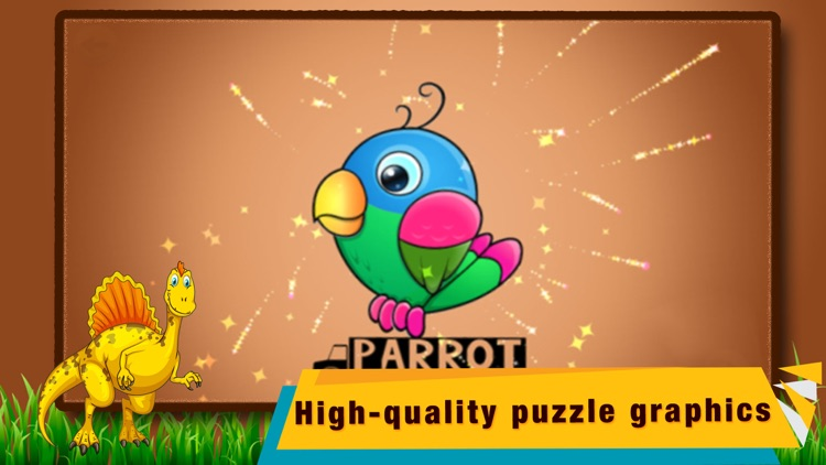 Animal Shape Puzzle game