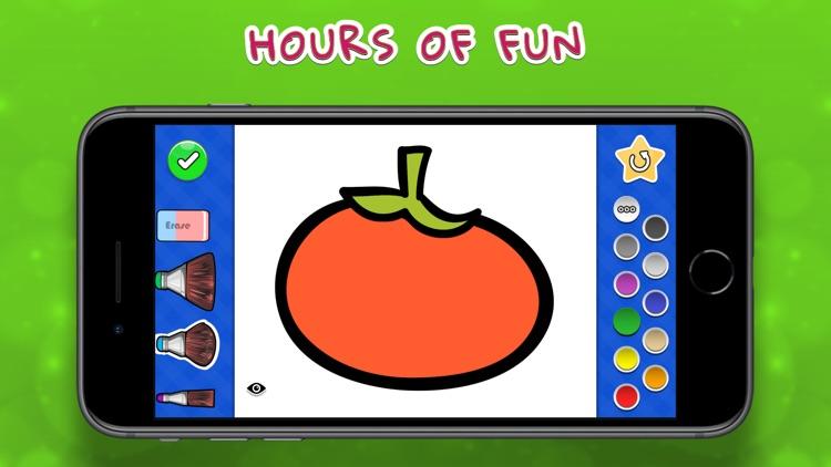 Coloring Your Yummies MAX screenshot-4