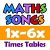 Maths Songs: Times Tables 1x - 6x HD