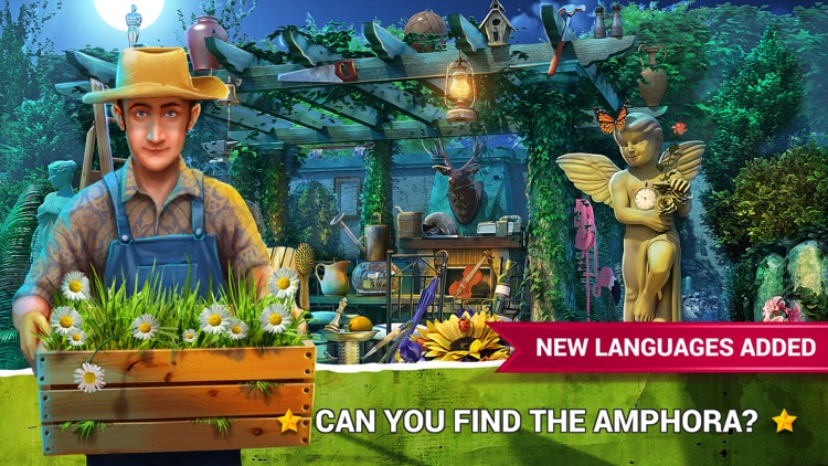 Hidden Objects Gardens Game.s