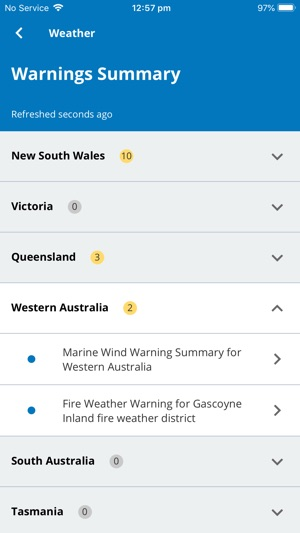 BOM Weather on the App Store