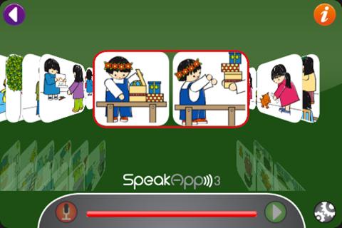 SpeakApp 3 Lite - náhled