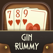 Gin Rummy Grand: Fun Card Game