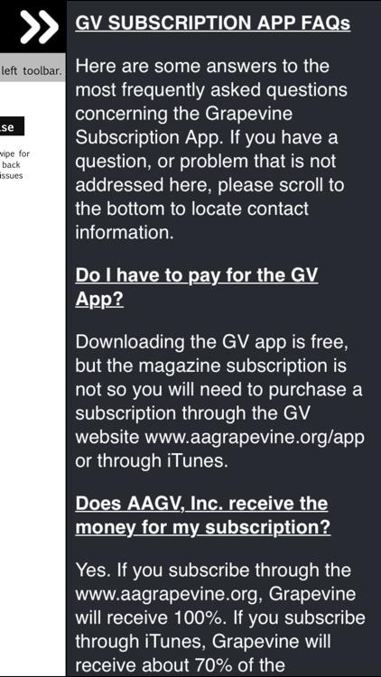 AA Grapevine Magazine screenshot-4