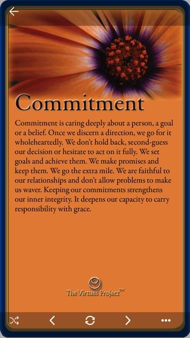 Virtues Reflection Cards screenshot1