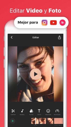 InShot - Editor de vídeo Screenshot