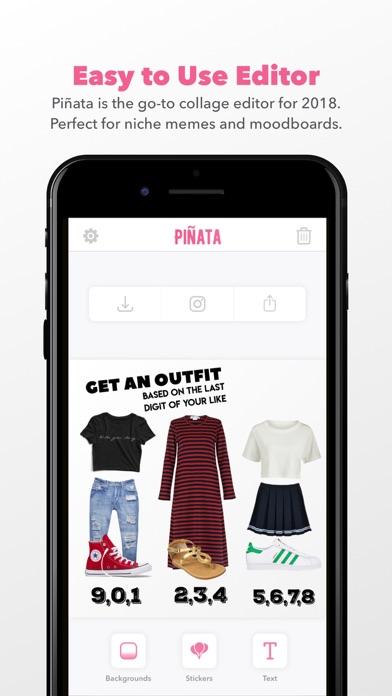 Piñata – Scrapbook Editor screenshot