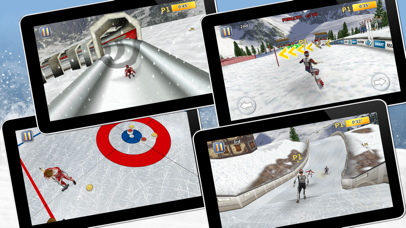 Athletics 2: Winter Sports screenshot 1