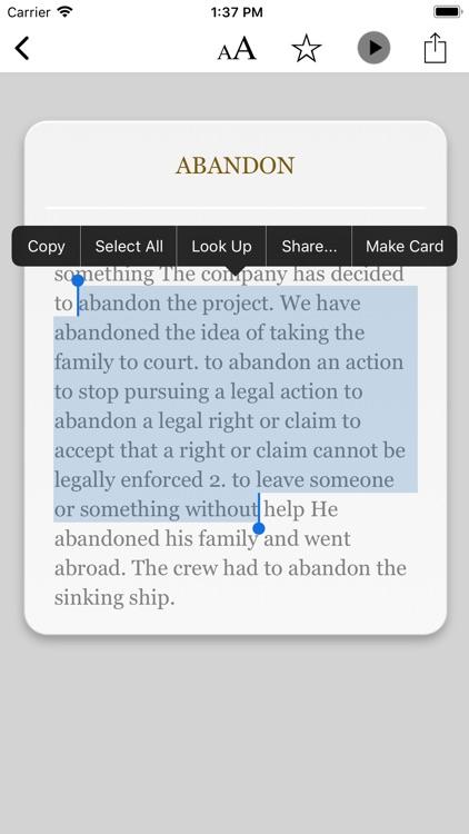 Dictionary of Law! screenshot-3