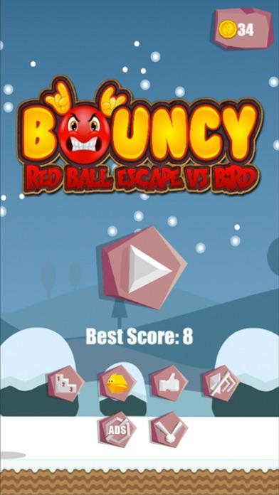 Bouncy Red Ball vs Bird Pro Screenshot 1