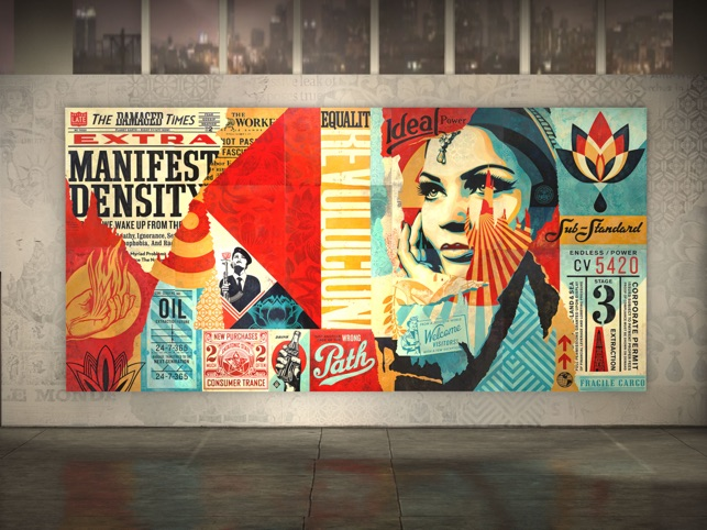 Shepard Fairey AR - Damaged Screenshot