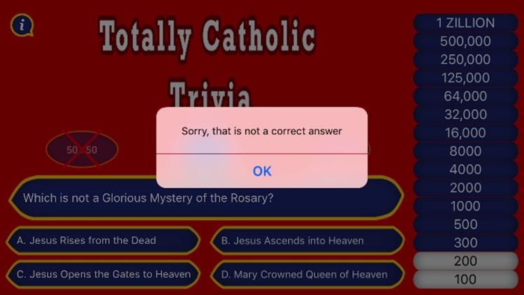 Totally Catholic Trivia 2.0 screenshot-3