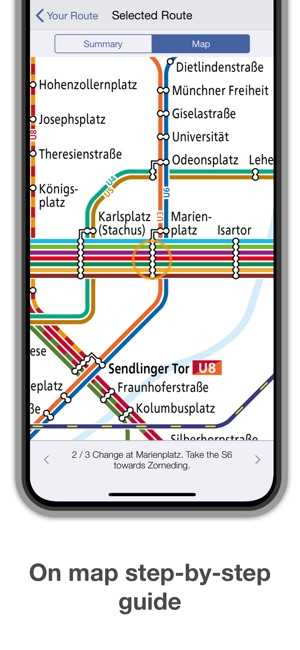 Munich Subway Map.Munich Metro Map Route On The App Store