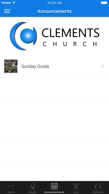 Clements Baptist Church