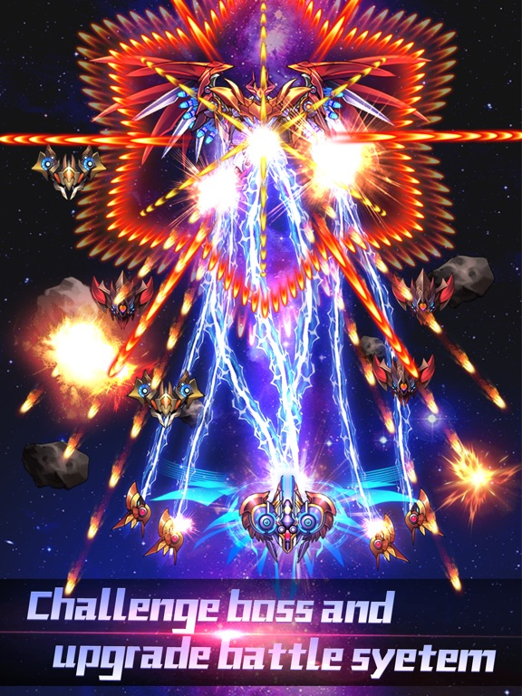 Thunder Assault: Galaga Galaxy Screenshots