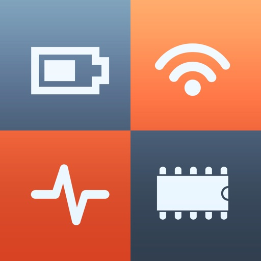 System Status - battery, memory, CPU & data usage