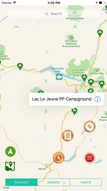 British Columbia State Campgrounds & RV's