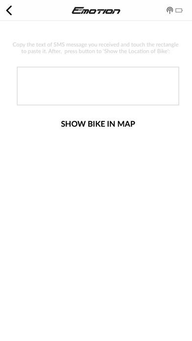 BH Bikes GPS Locator screenshot three