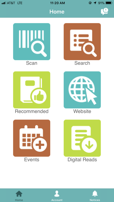 ABQ Library screenshot one