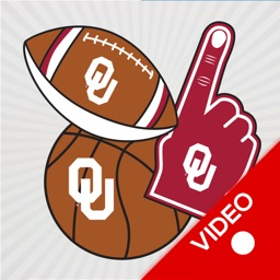 Oklahoma Sooners Animated Selfie Stickers