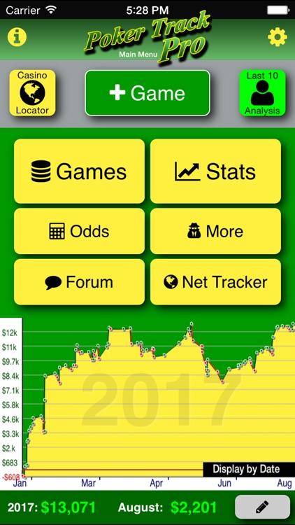 Poker Track Pro – Game Tracker screenshot-0