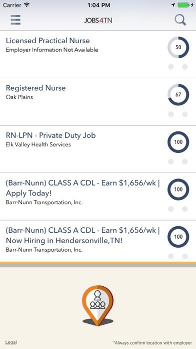 JOBS4TN Screenshot on iOS