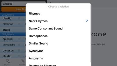 RhymeZone screenshot1