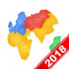 世界地图 - 覆盖200个国家和地区
