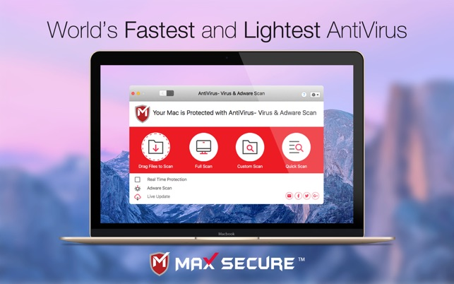 max secure spyware detector registration key