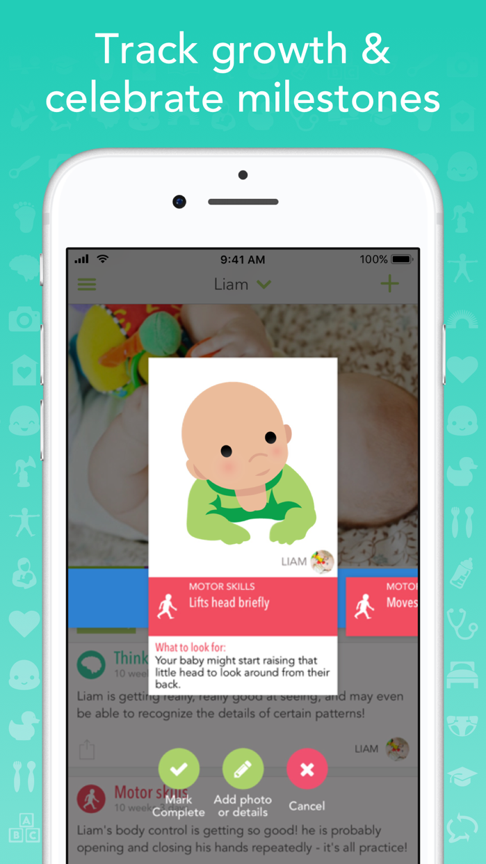 Ovia Parenting - Baby Tracker Screenshot