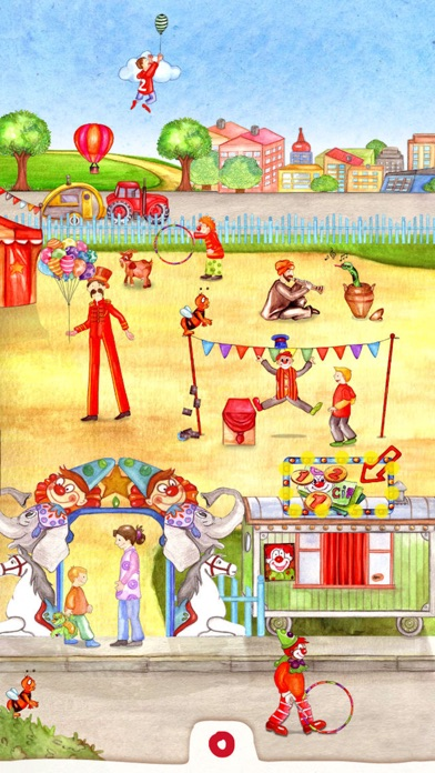 Animal Circus - Toddler's Seek & Find screenshot one