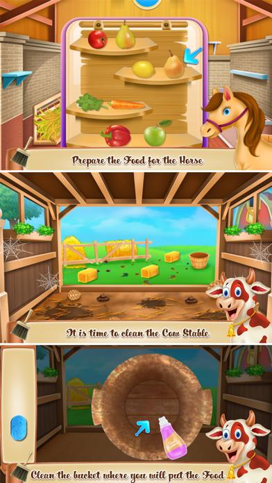 Animals Farm Cleaning Screenshot
