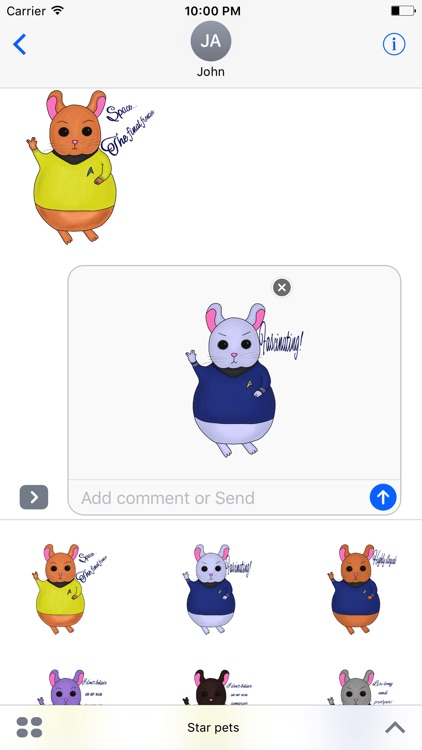 Star Pets stickers screenshot-4