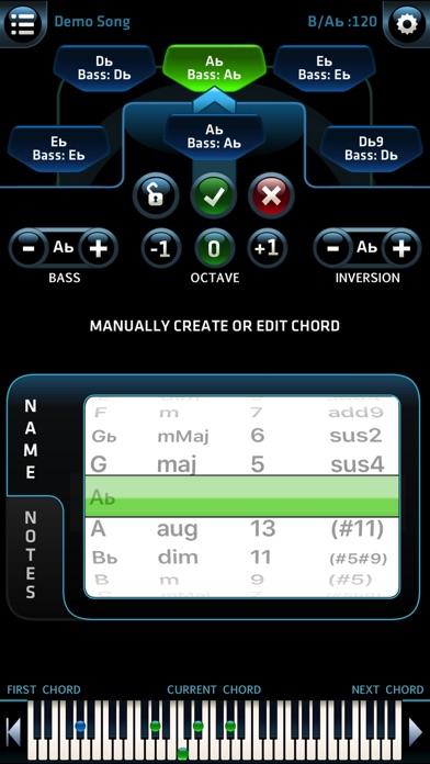 Pro Chords - Instant Inspiration - w. WiFi MIDI iPhone