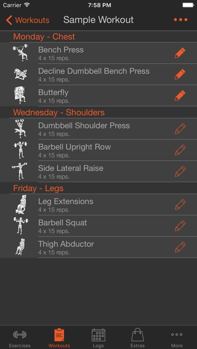 Fitness Point Pro Female Screenshots