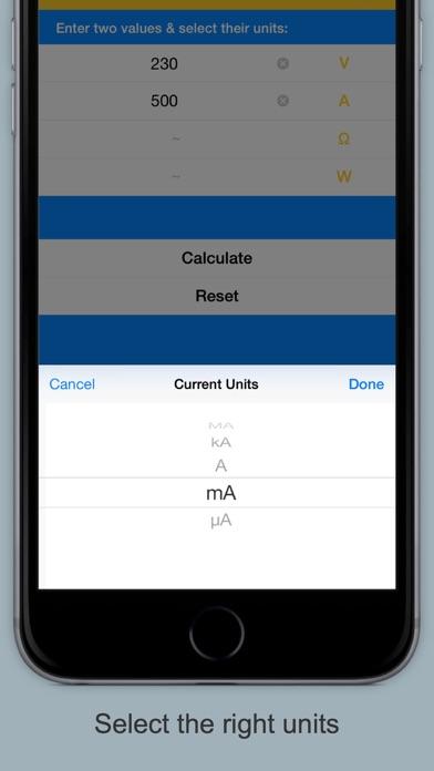 Ohm's Law Calculator & Guide screenshot two