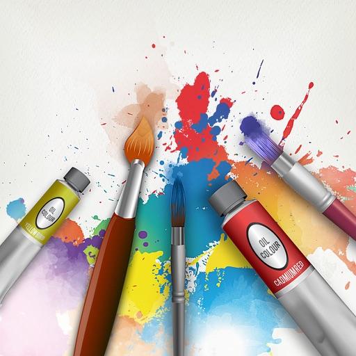 Draw.ing Pad, Doodle Paint Art application logo