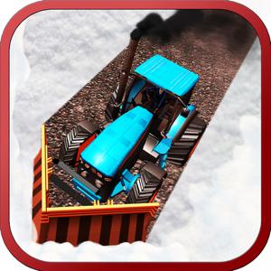 Snow Plow Tractor Simulator app