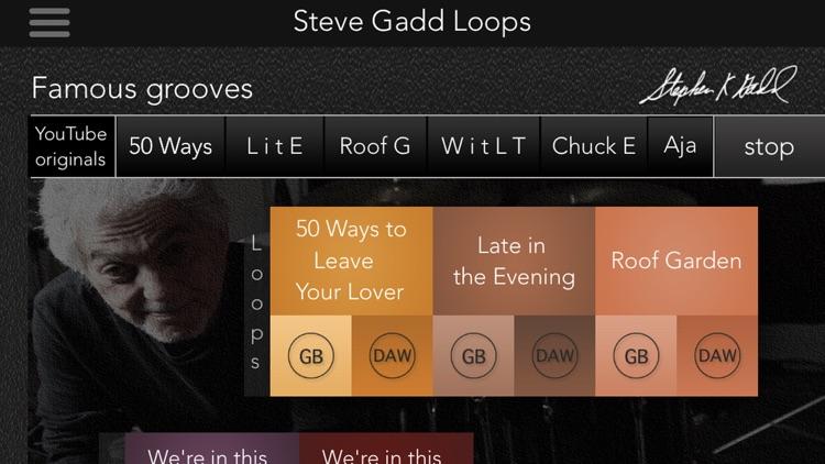 Steve Gadd Drum Loops screenshot-3