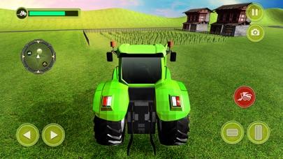 Echter Traktor Raserei Landwirt Simulator 18Screenshot von 3