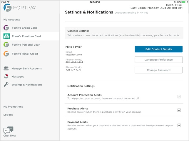 Fortiva Account Center on the App Store