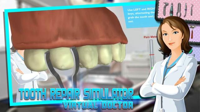virtual dentist game