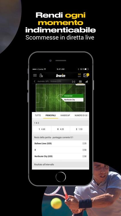 bwin Scommesse Sportive screenshot-3