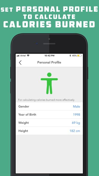 Pedometer Lite for Weight Loss screenshot-4