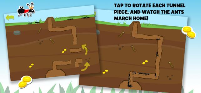 Brainy Bugs: Preschool Games Screenshot