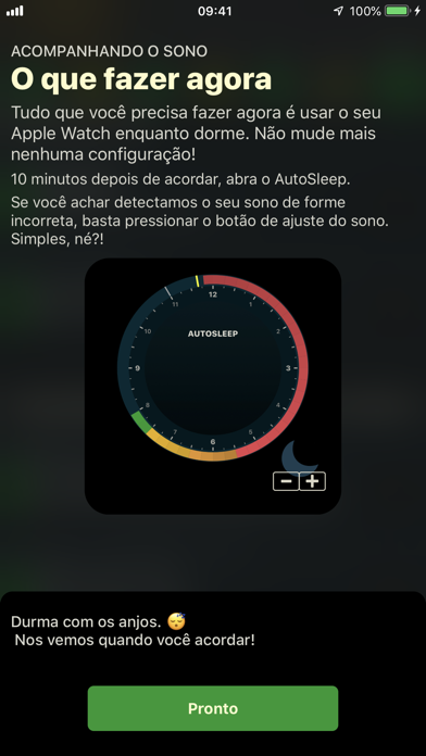 Screenshot for AutoSleep. Monitore seu sono. in Portugal App Store