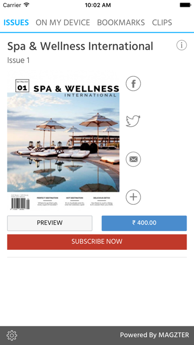 Spa & Wellness International screenshot 1