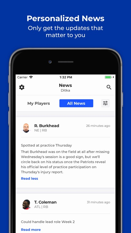 SquadQL - Fantasy Sports screenshot-0